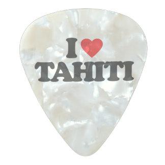 私はタヒチを愛します パールセルロイド ギターピック