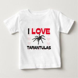 私はタランチュラを愛します ベビーTシャツ