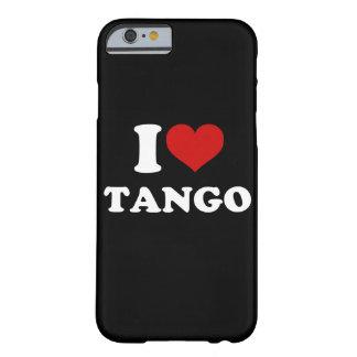 私はタンゴのiPhone 6/6sを愛します Barely There iPhone 6 ケース