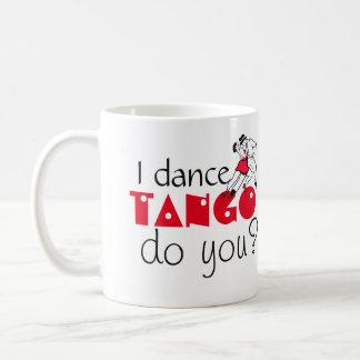 私はタンゴを踊ります コーヒーマグカップ