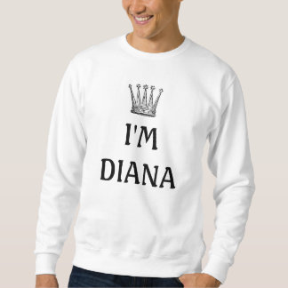 私はダイアナの丸首です スウェットシャツ