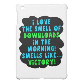 私はダウンロードの臭いを愛します! おもしろいなギークの冗談- B iPad MINIケース