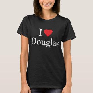 私はダグラスを愛します Tシャツ