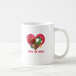 私はダニエルをカメ愛します コーヒーマグカップ