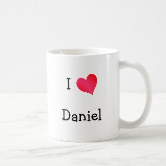 私はダニエルを愛します コーヒーマグカップ