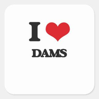 私はダムを愛します スクエアシール