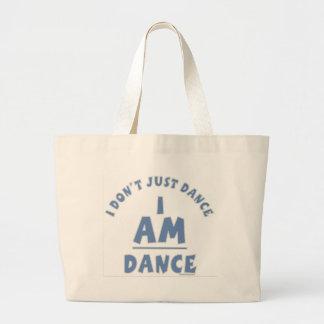 私はダンスです。 生命のダンサー。 永久にダンサー ラージトートバッグ
