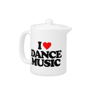 私はダンス音楽を愛します