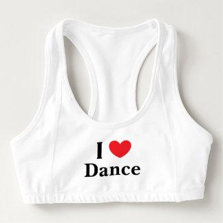 """""""私はダンス"""" Aloのスポーツのブラ愛します スポーツブラ"""