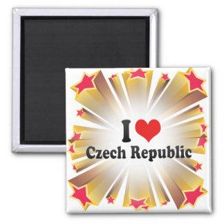 私はチェコスロバキア共和国を愛します マグネット