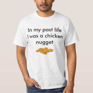 私はチキン・ナゲットでした Tシャツ