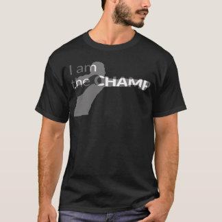 私はチャンピオンです Tシャツ