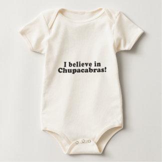 私はチュパカブラで信じます! ベビーボディスーツ