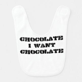 私はチョコレートがほしいと思います ベビービブ