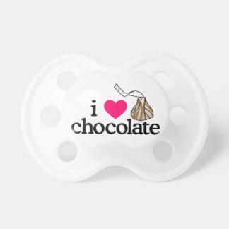私はチョコレートを愛します おしゃぶり
