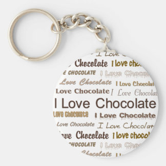 私はチョコレートを愛します キーホルダー