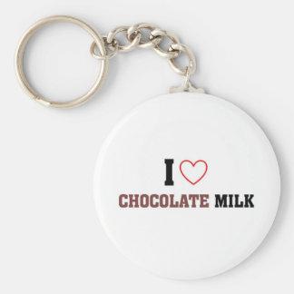 私はチョコレートミルクを愛します キーホルダー