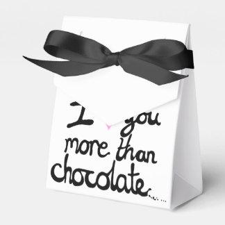 私はチョコレート好意箱よりもっと愛します フェイバーボックス