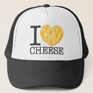 私はチーズを愛します キャップ