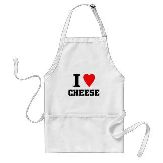 私はチーズを愛します スタンダードエプロン