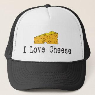 私はチーズ帽子を愛します キャップ