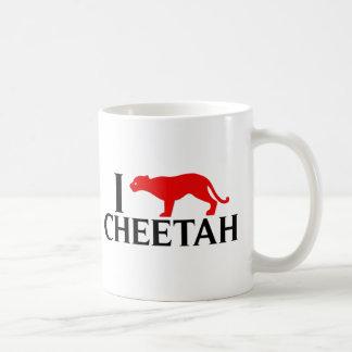 私はチータを愛します コーヒーマグカップ