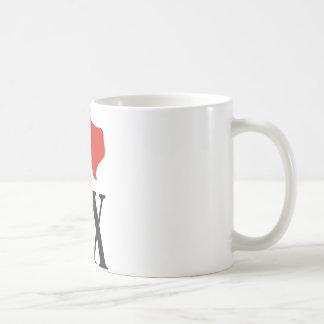 私はテキサス州を愛します コーヒーマグカップ