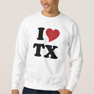私はテキサス州を愛します スウェットシャツ