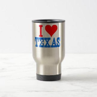 私はテキサス州を愛します トラベルマグ