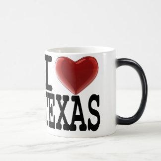 私はテキサス州を愛します モーフィングマグカップ