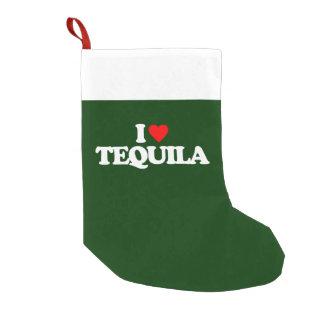私はテキーラを愛します スモールクリスマスストッキング