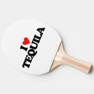私はテキーラを愛します 卓球ラケット
