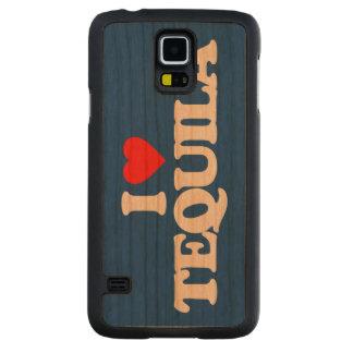 私はテキーラを愛します CarvedチェリーGalaxy S5スリムケース