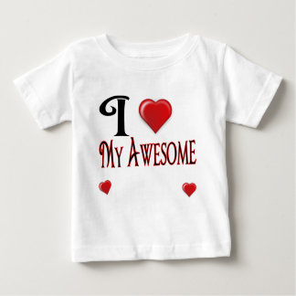 私はテンプレートを愛します ベビーTシャツ