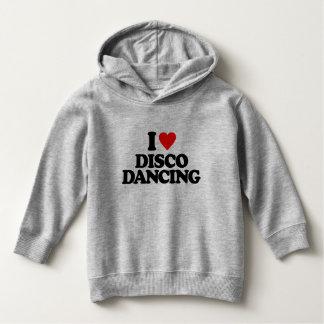 私はディスコの踊りを愛します パーカ