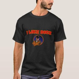 私はディックのTシャツを好みます Tシャツ