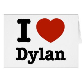 私はディランを愛します カード