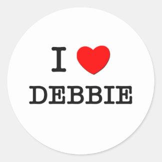 私はデビーを愛します ラウンドシール