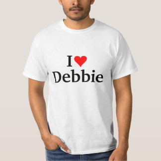 私はデビーを愛します Tシャツ