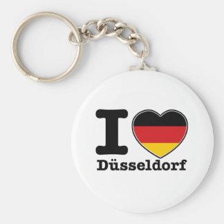 私はデュッセルドルフを愛します キーホルダー