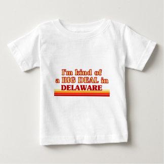 私はデラウェア州のちょっと大事です ベビーTシャツ