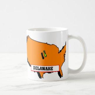 私はデラウェア州を愛します コーヒーマグカップ