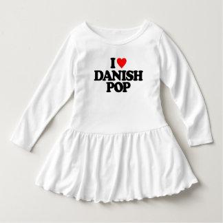 私はデンマーク語の破裂音を愛します ドレス