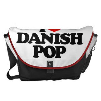 私はデンマーク語の破裂音を愛します メッセンジャーバッグ