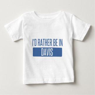 私はデービスにむしろあります ベビーTシャツ