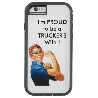 私はトラック運転手の妻で誇りを持ったです! TOUGH XTREME iPhone 6 ケース