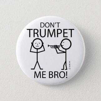 私はトランペットを吹きません 5.7CM 丸型バッジ
