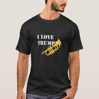 私はトランペットを愛します Tシャツ