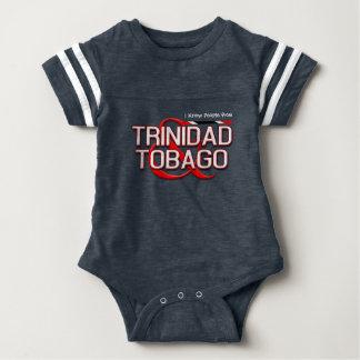 私はトリニダードトバゴからの人々を知っています ベビーボディスーツ