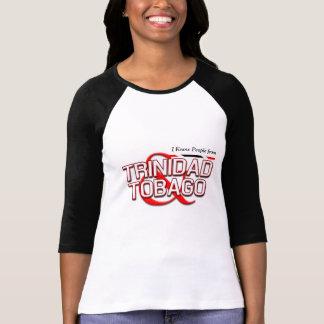 私はトリニダードトバゴからの人々を知っています Tシャツ